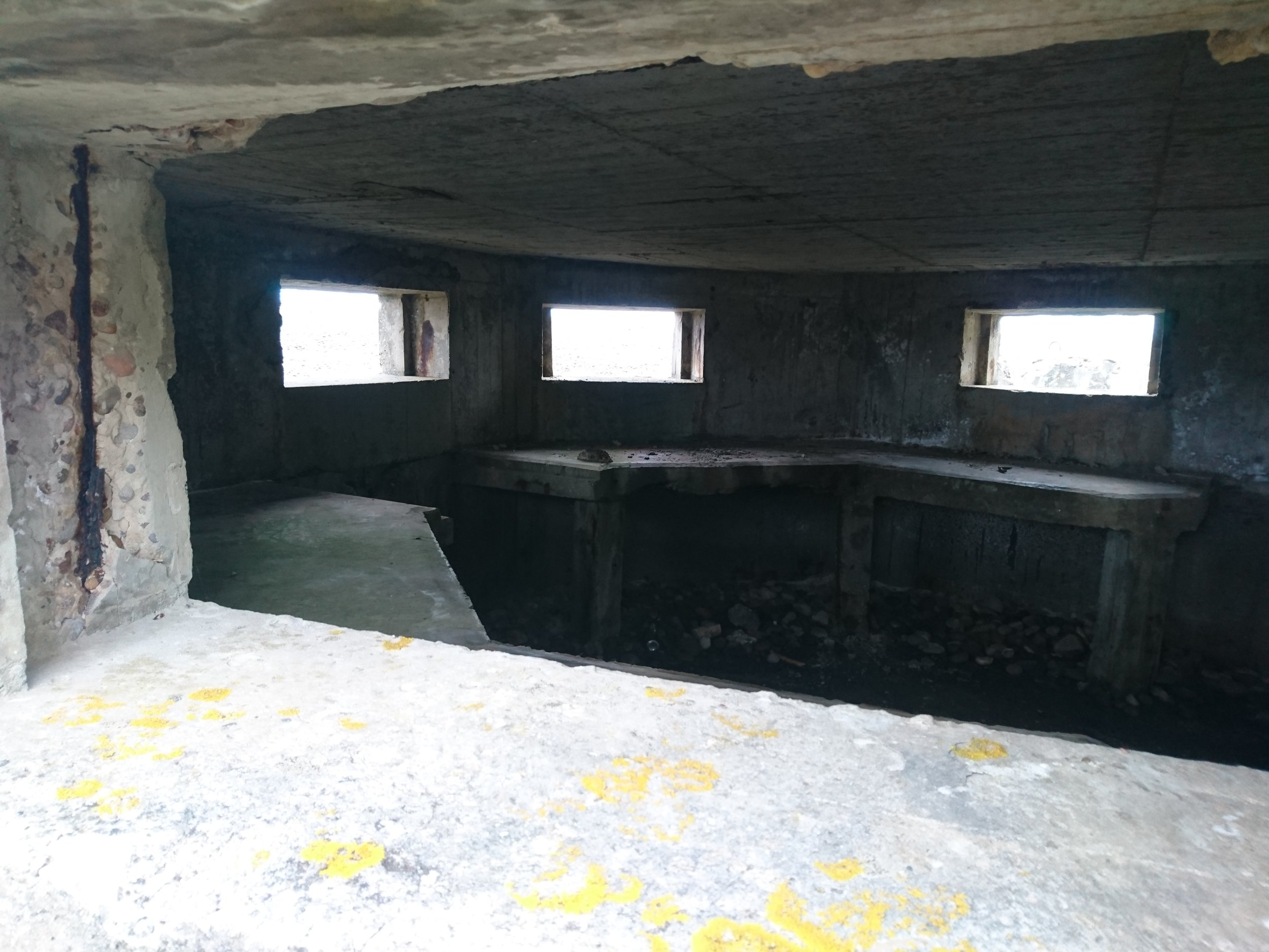 Inside of Pillbox