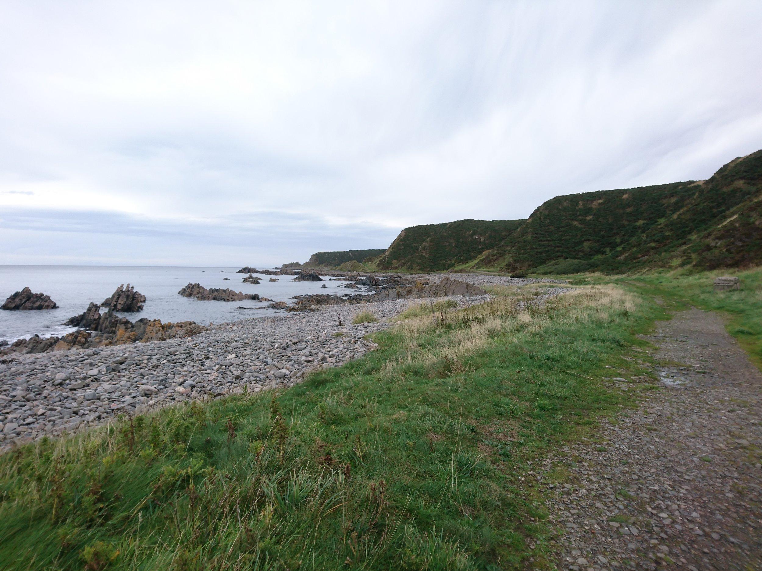 Undercliff Path near Cullen