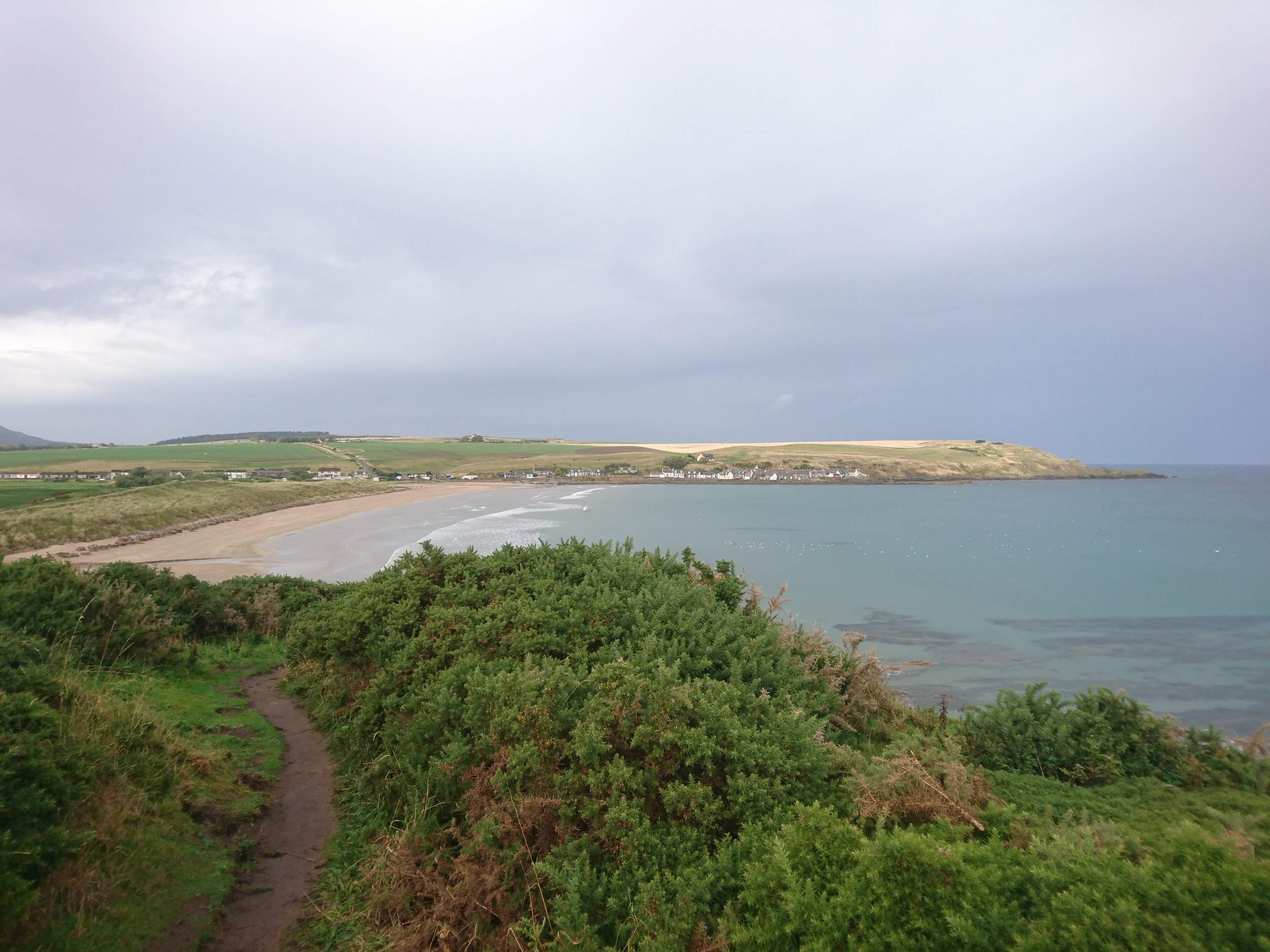 Looking Back to Sandend