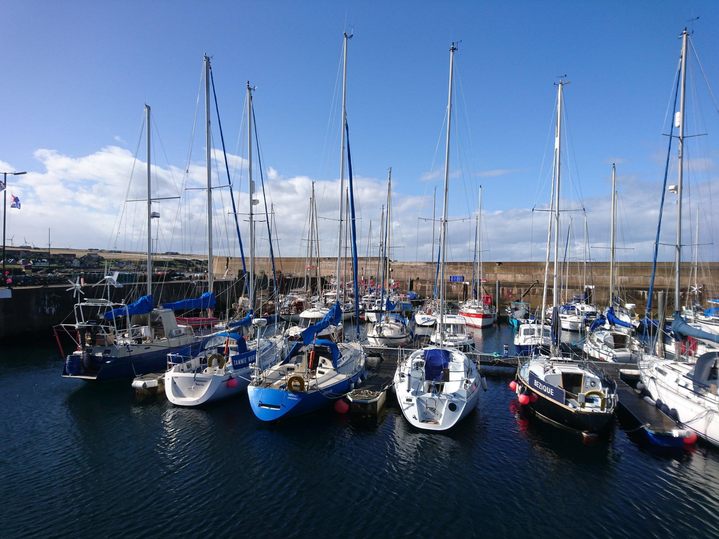 Whitehills Harbour