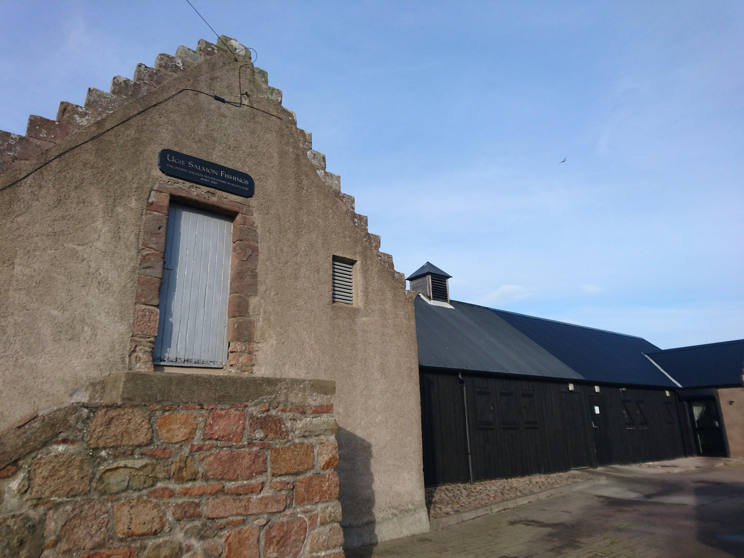 Oldest Salmon Smokehouse in Scotland