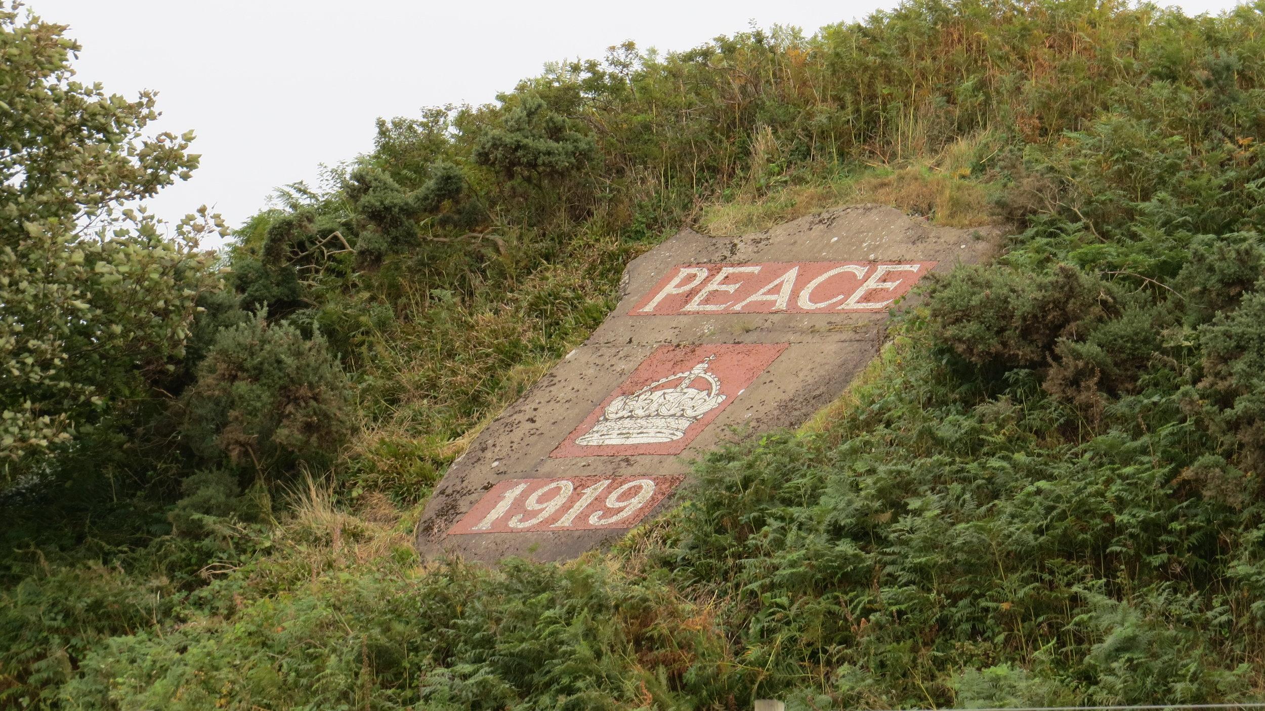 Peace Sign Muchalls