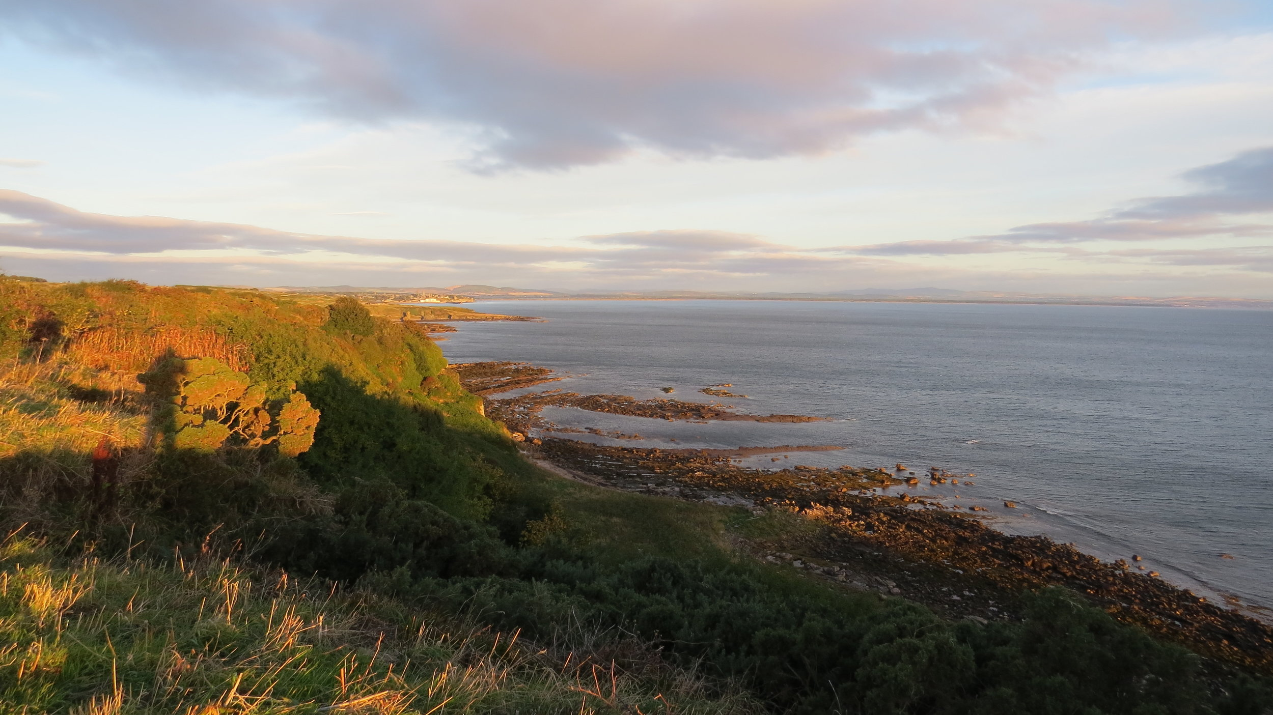 Looking back to St Andrews