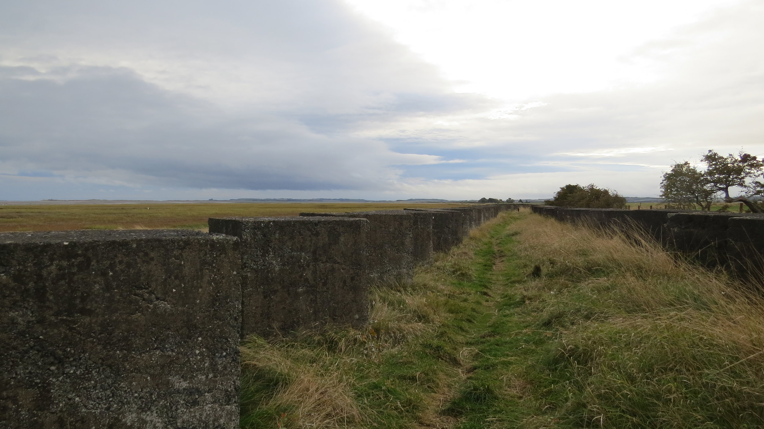 Path between the Defences