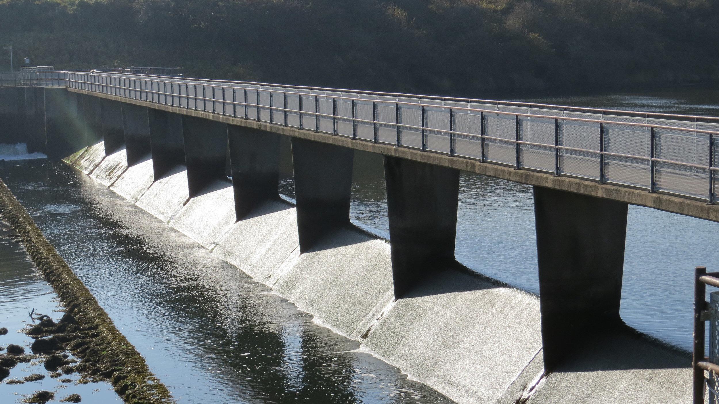 River Wansbeck Weir Bridge