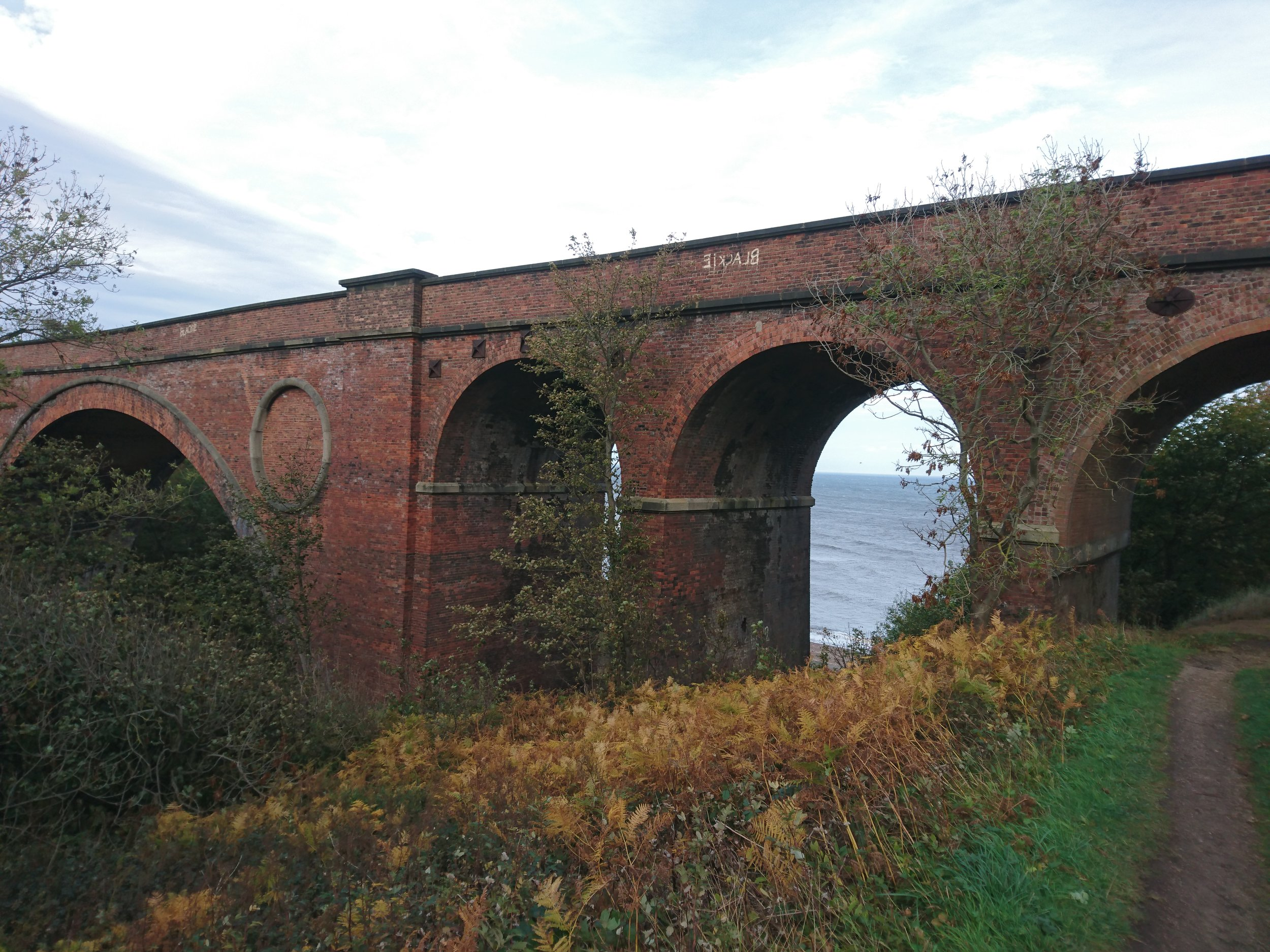 Viaduct after Seaham