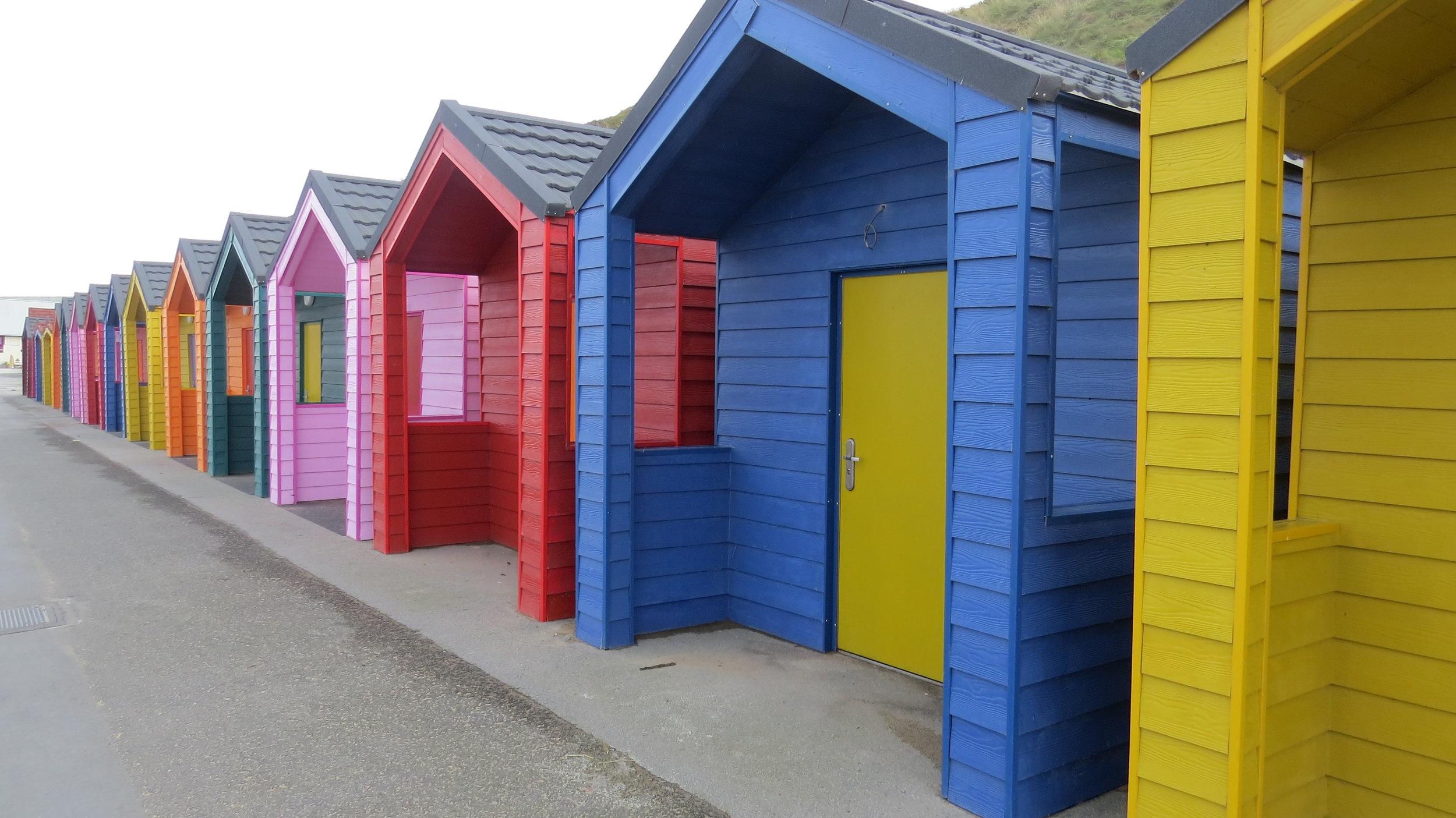 Bright Beach Houses
