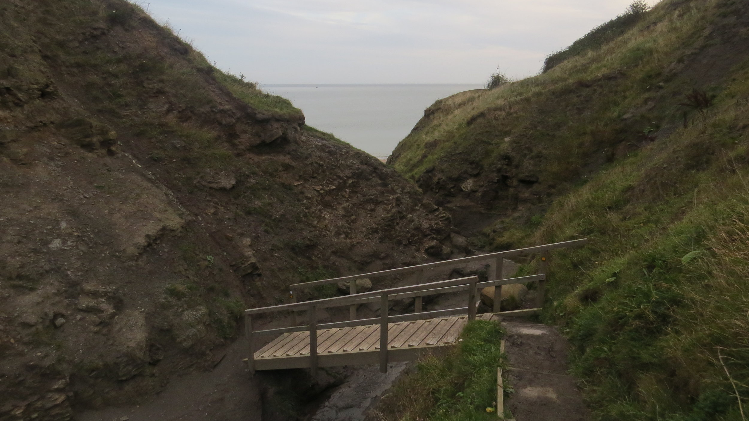 Route out of Runswick Bay II