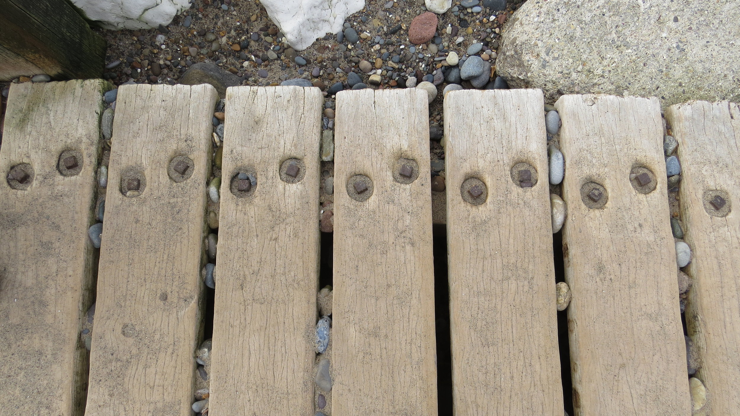 Weathered Timber (I did say I didn't take many photos today)