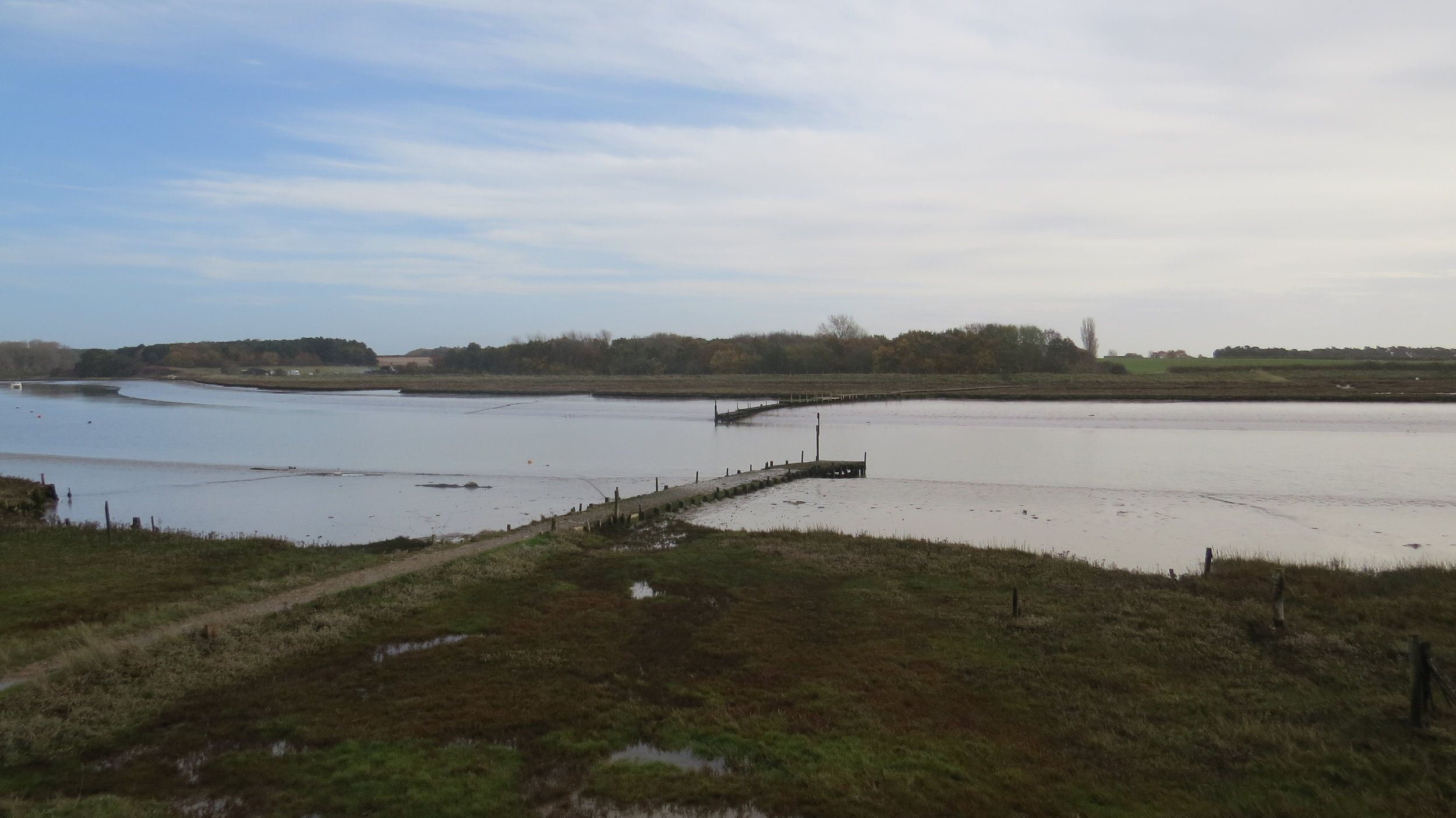 Butley River Ferry Point