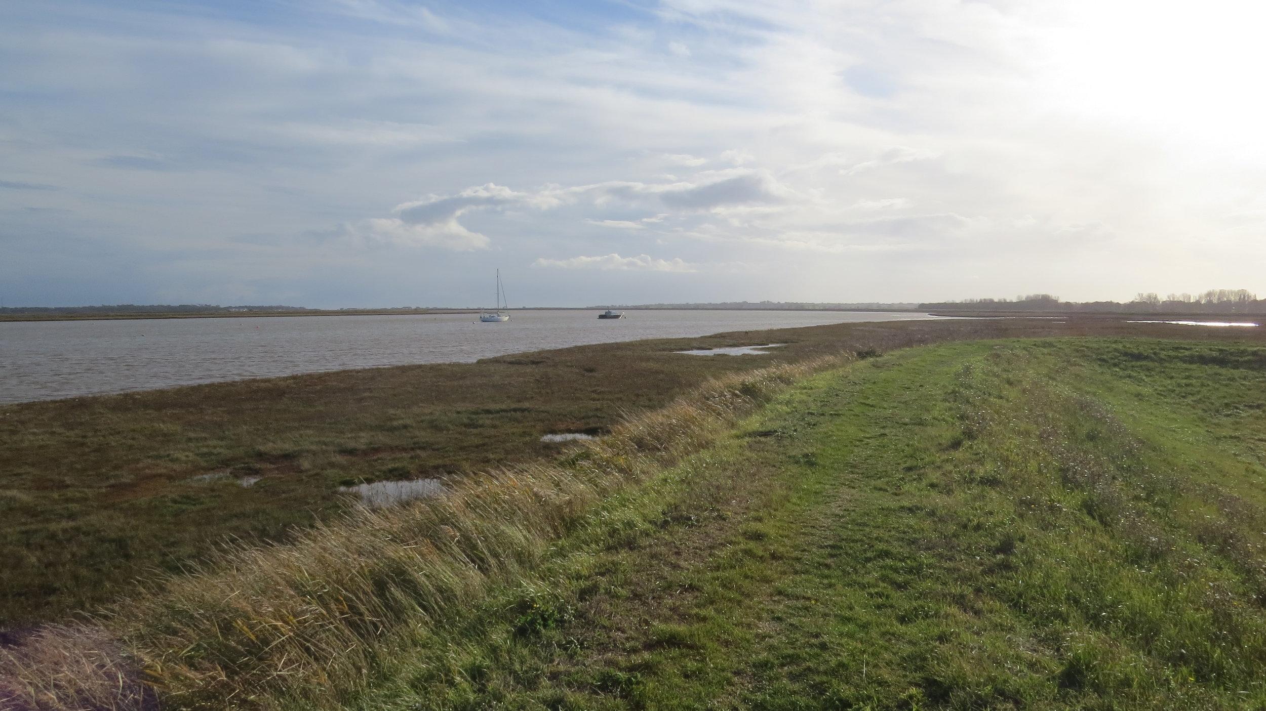 Embankment Walking