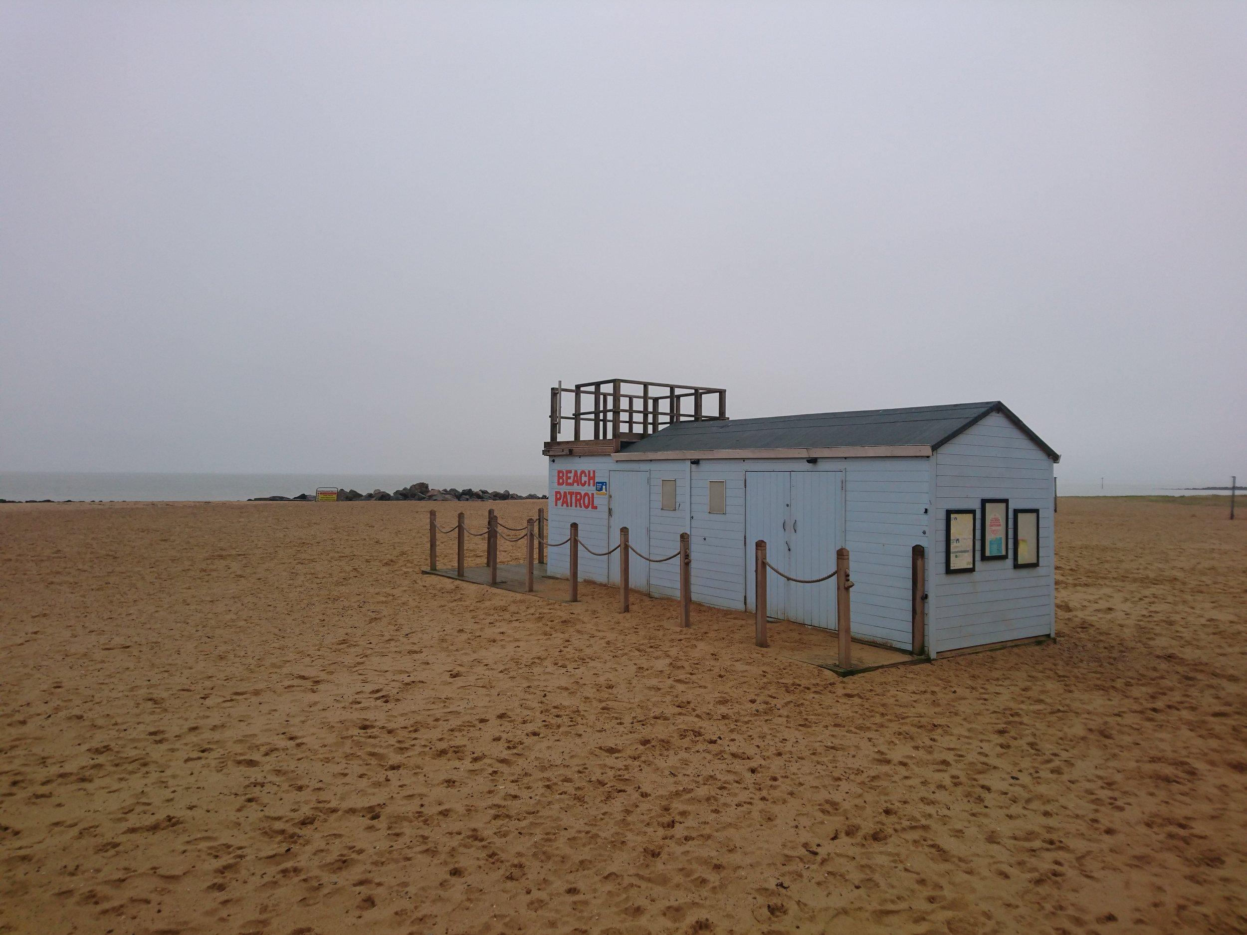 Beach Patrol Hut