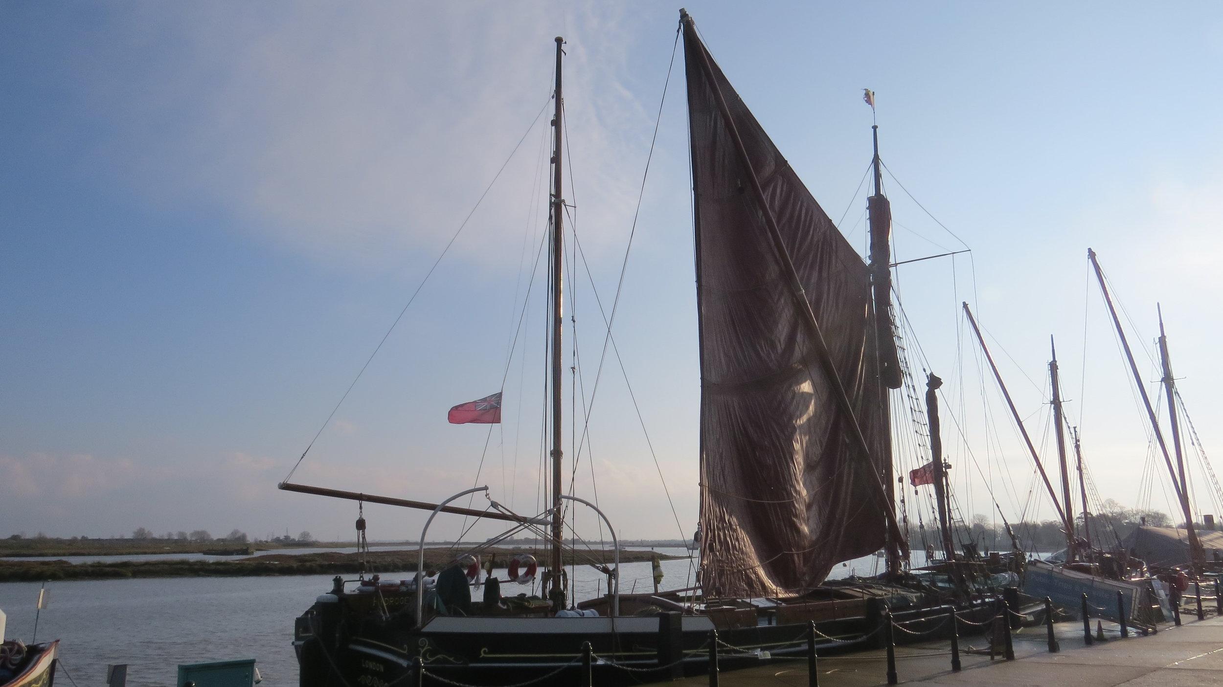 Thames Barge Maldon
