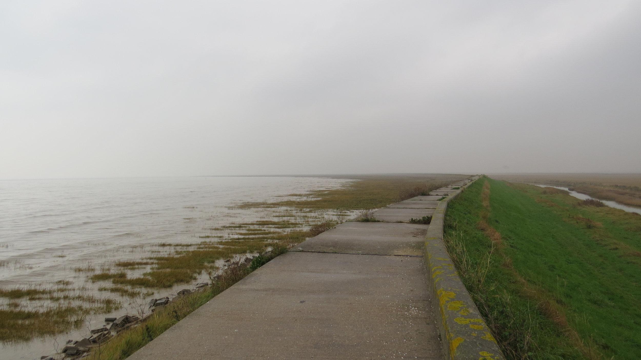 Sea Wall Walking