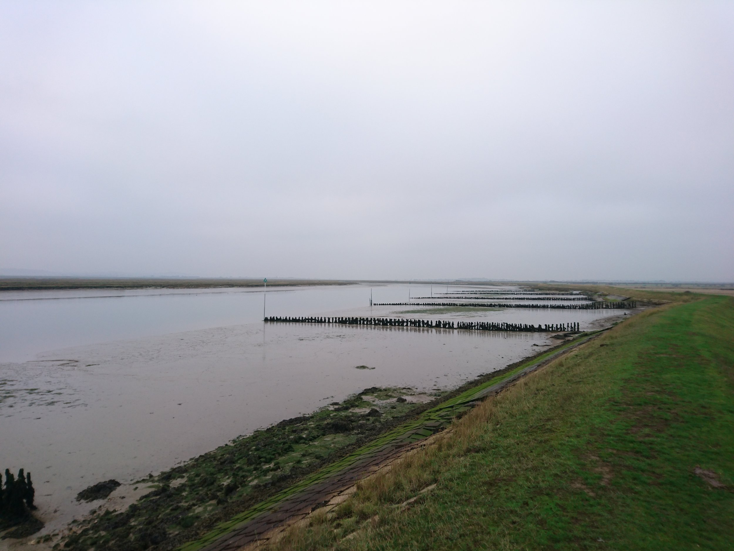 Embankment along River Crouch I