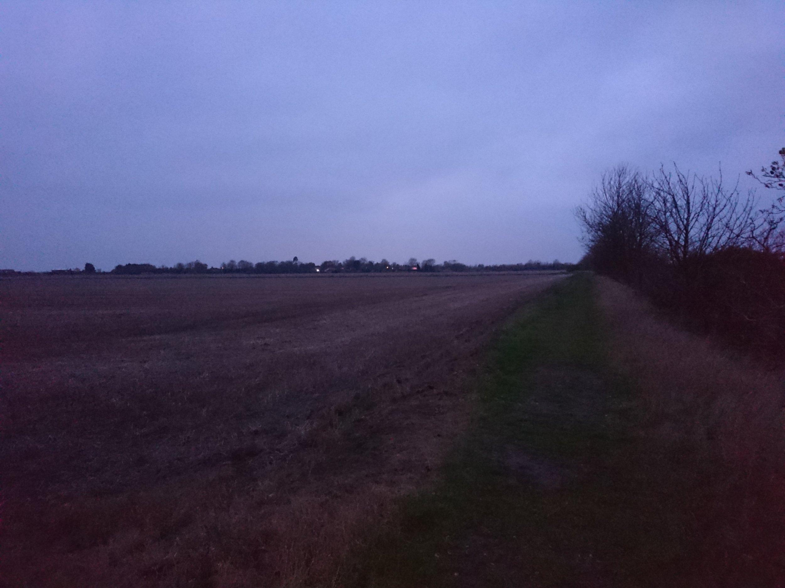Approaching Paglesham