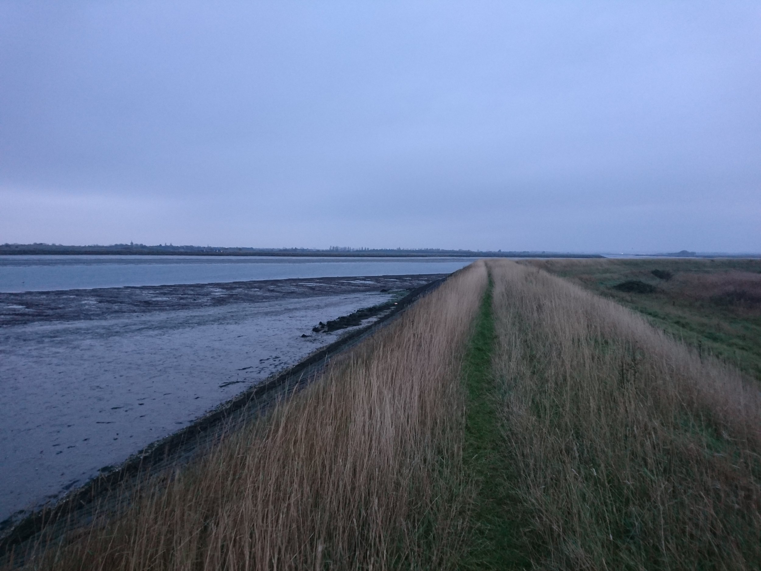 Embankment along River Crouch