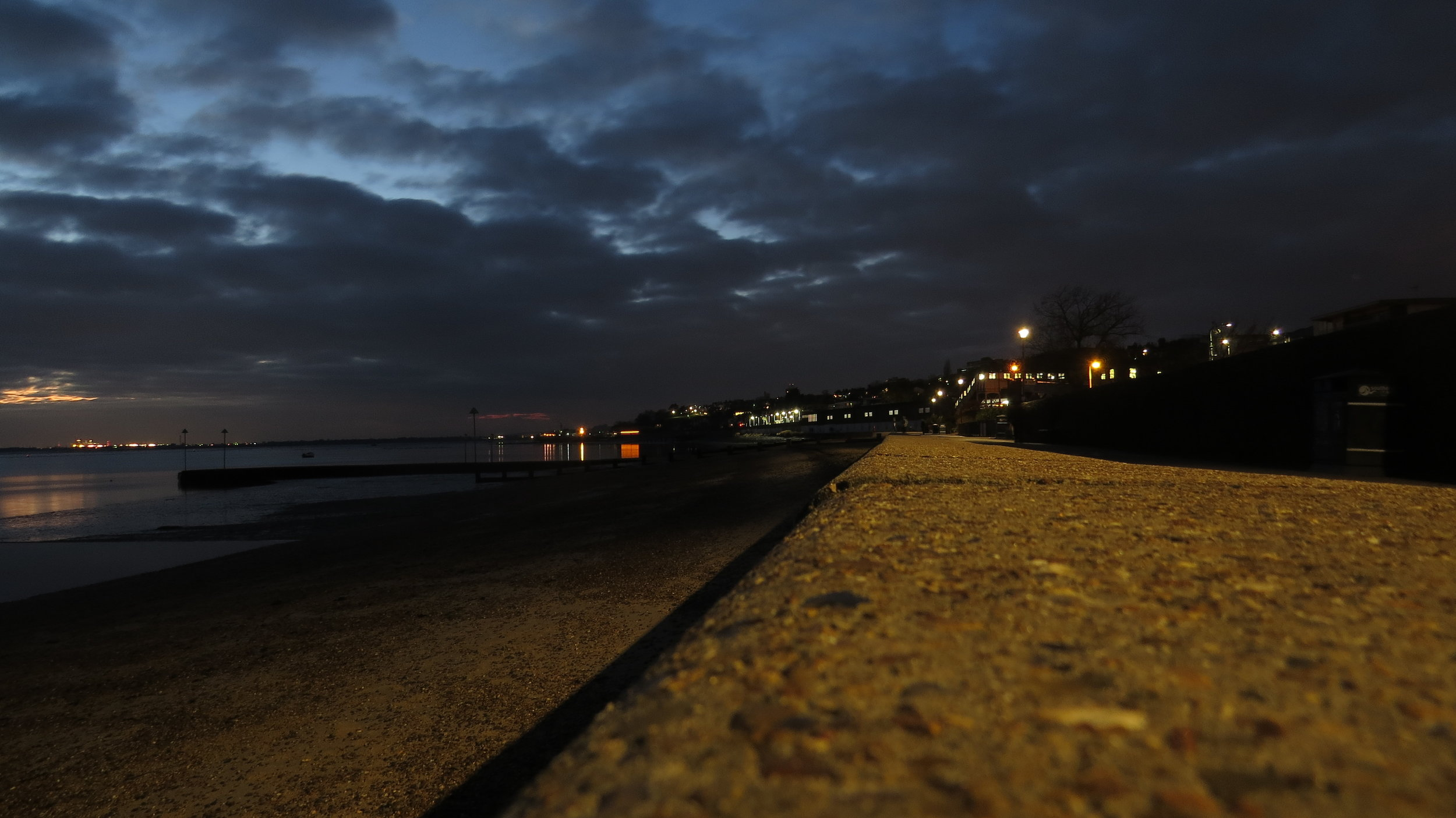 Arriving in Leigh-on-Sea in the Dark