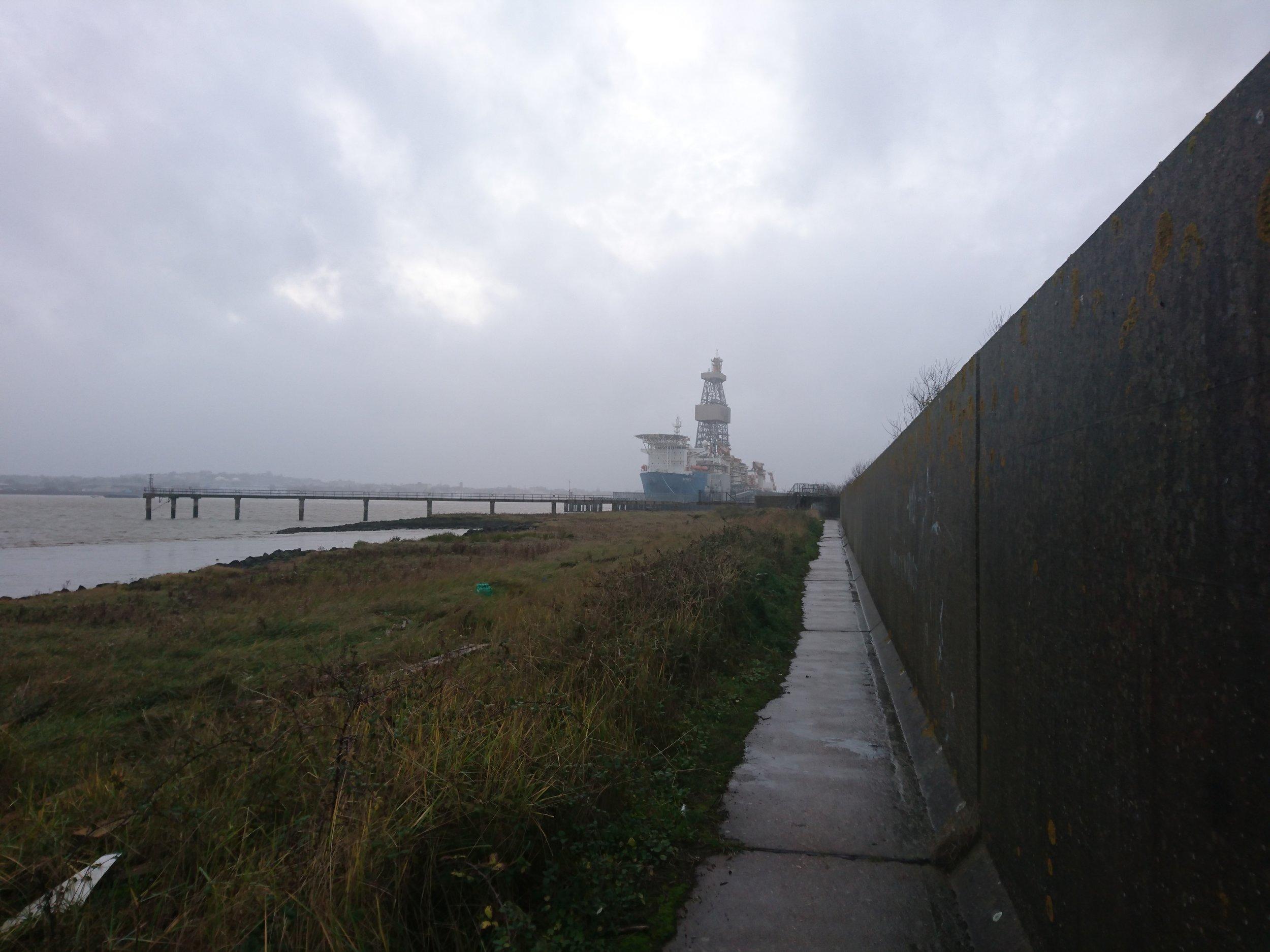 Following Sea Wall