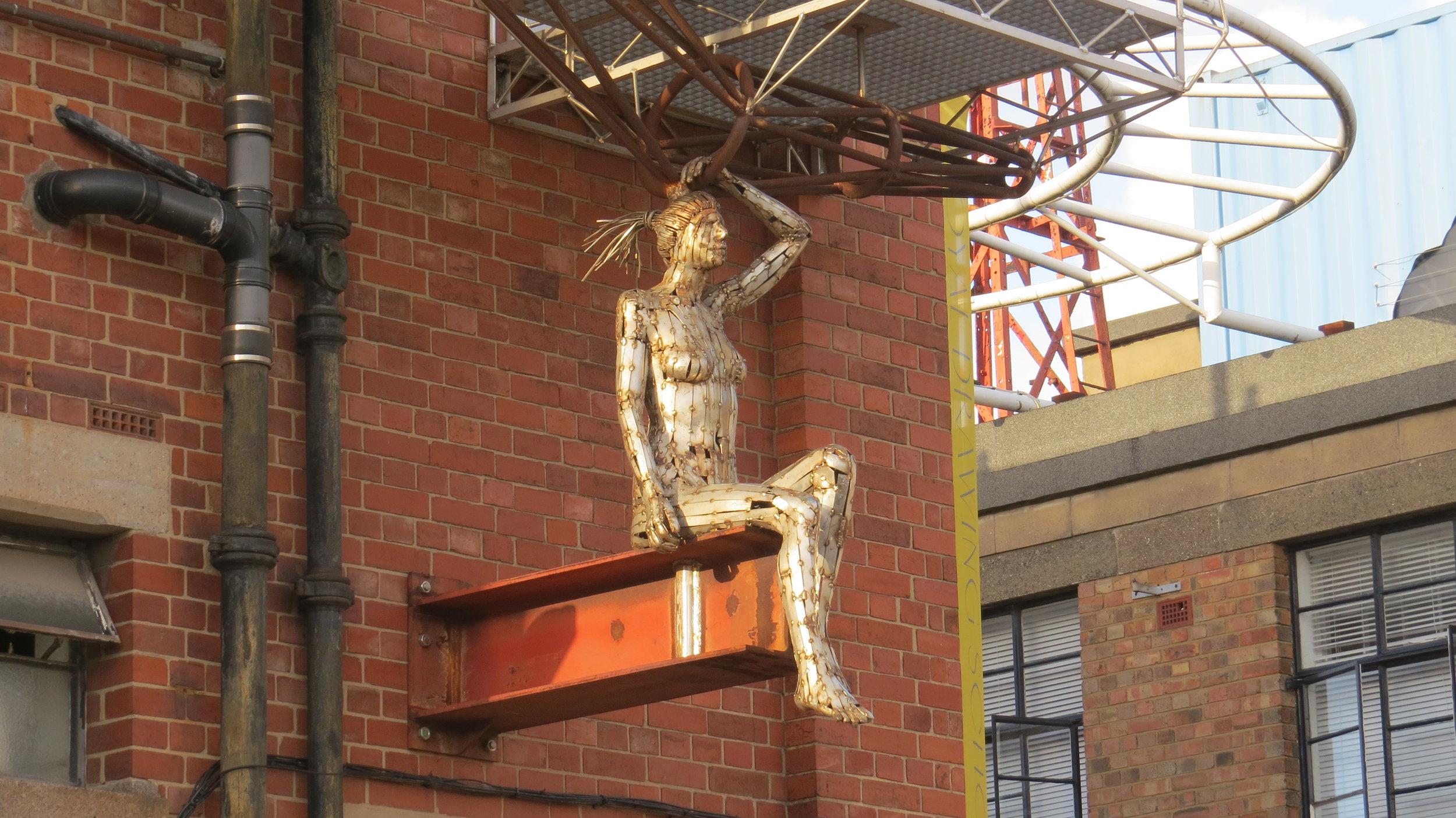 Sculptural Stair Support