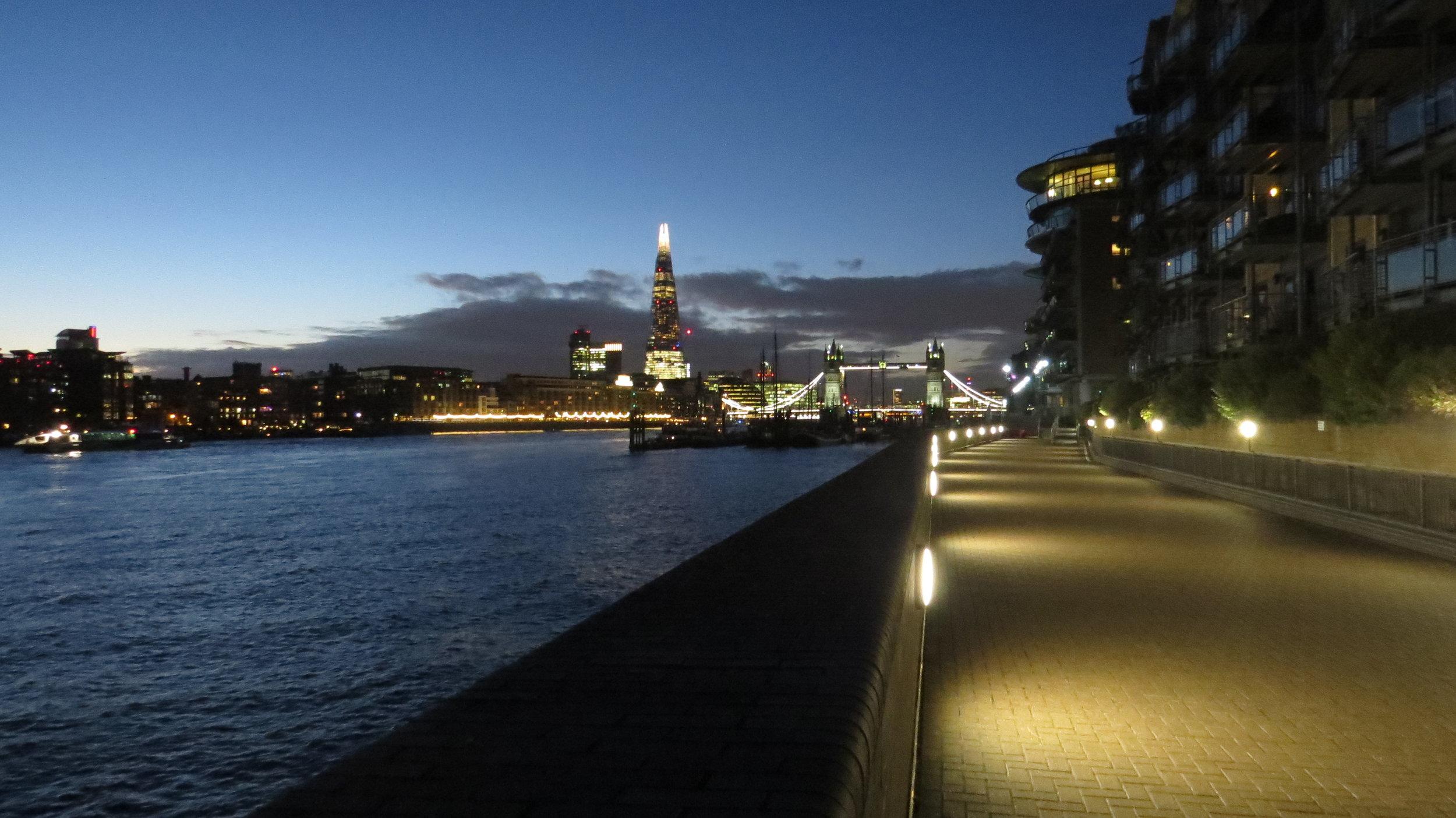 Twilight over Tower Bridge