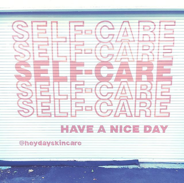 Always remember to take time to treat yourself 😚 💗 #selfcaresaturday @heydayskincare
