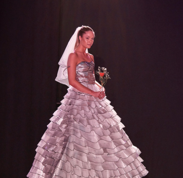 """Salvation Army """"Garbage Bag Gala""""— Featured Designer   To benefit the Salvation Army of Southern New Jersey."""