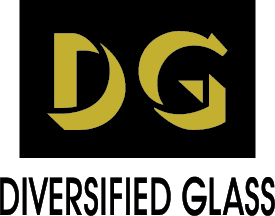 Diversified Glass logo, since 1980