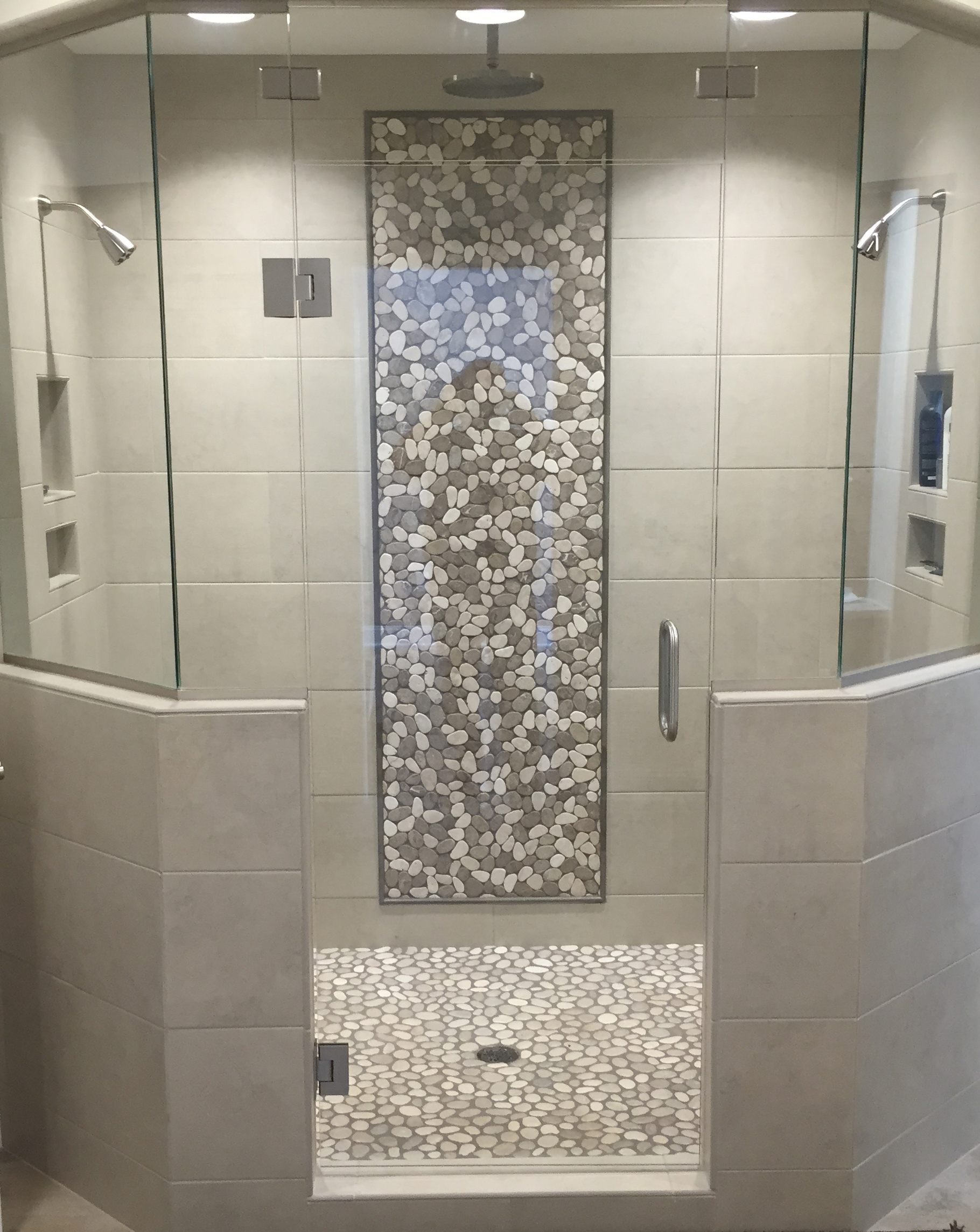 Diversified Glass custom shower enclosure