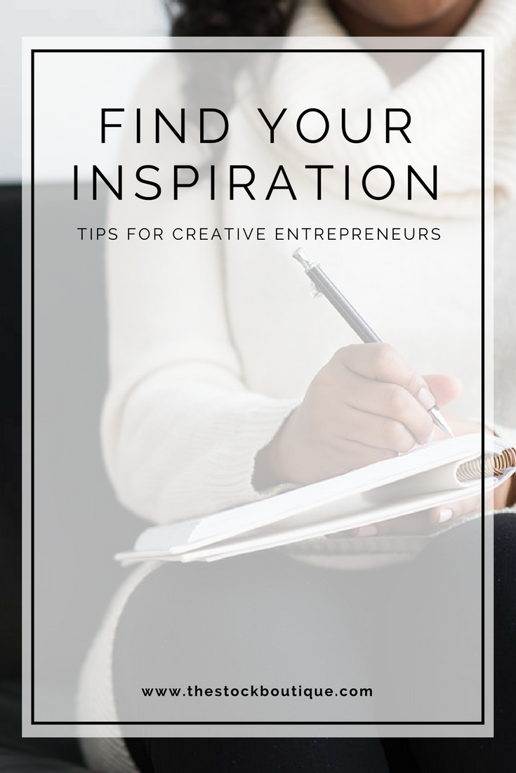 It's not easy to always have powerful, pretty and, most importantly, fresh ideas. So today we want to take a moment to walk you through some of our favourite tips for keeping your creative juices flowing! Find your inspiration, tips for creative entrepreneurs, creative advice, stock photos, stock photography, schedule creative time, pursue other hobbies, create for creation sake!