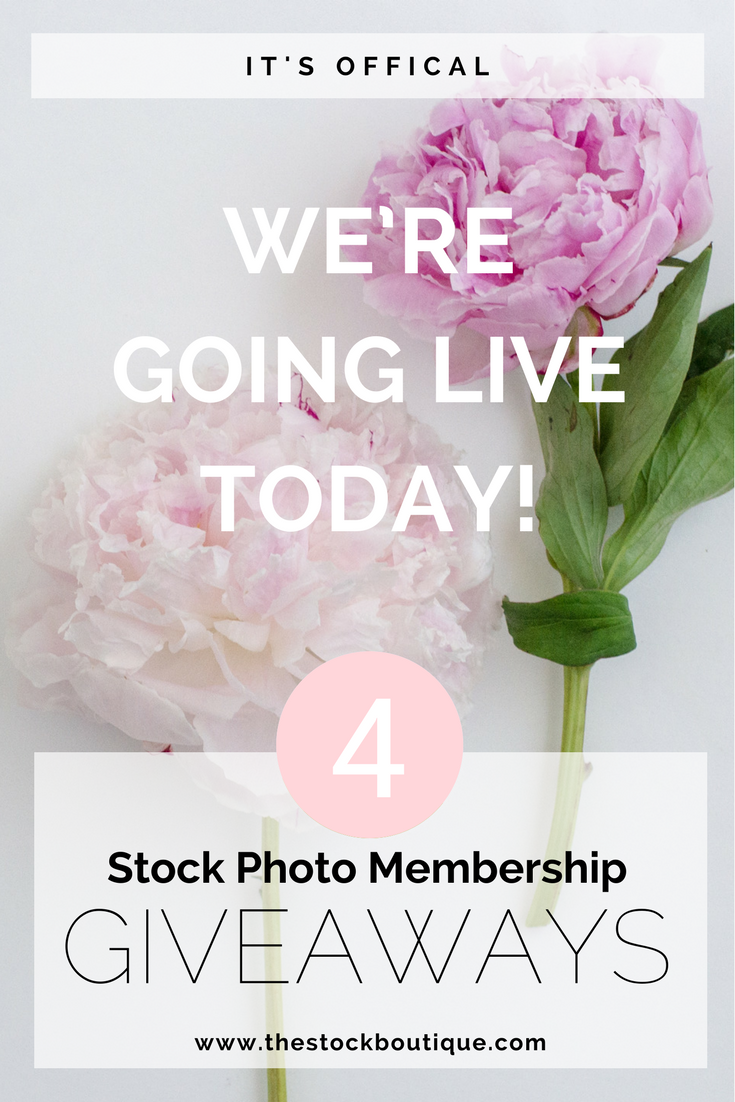 Launch and Stock Photo Membership Giveaway