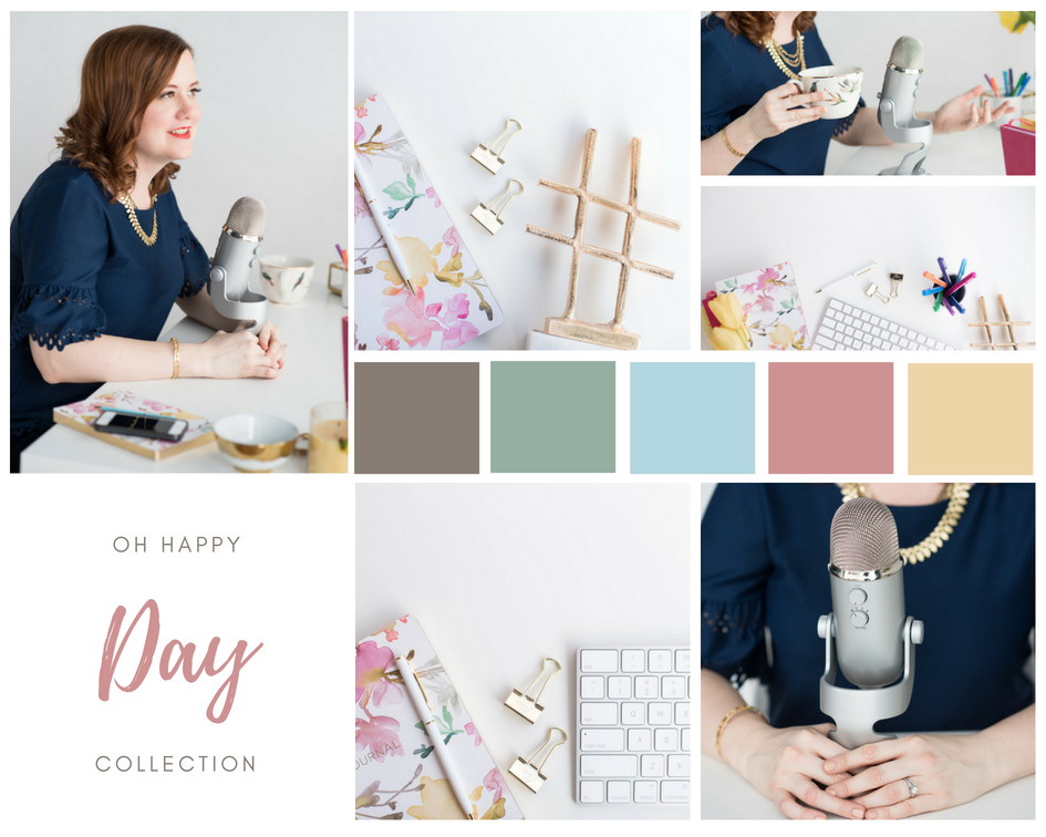 We've launched a brand new stock photo collection! Woot! Oh Happy Day is full of bright colours, gorgeous flat lays, and includes some lifestyle podcast images. For only $25 a month you can get your hands on this new collection! We give away a FREE stock photo monthly when you subscribe at www.thestockboutique.com.