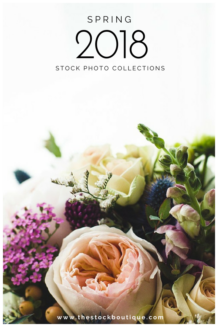 Spring 2018 Stock Photography Collections. www.thestockboutique.com
