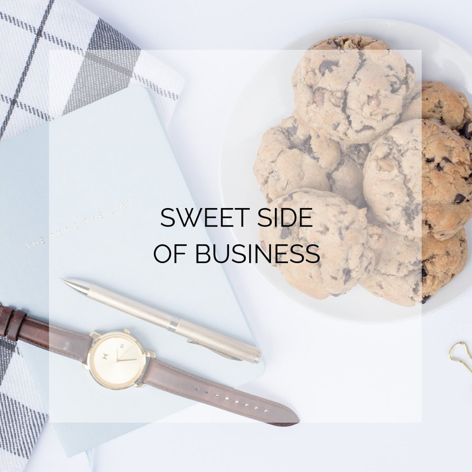 Sweet Side of Business Stock Photography