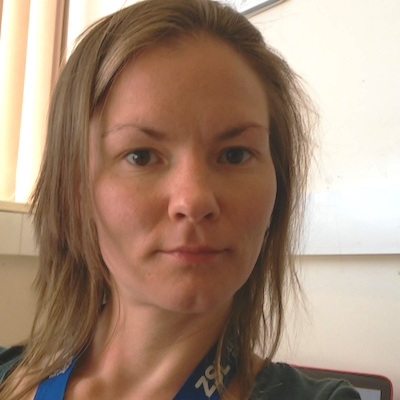 Rosa Jolma, Researcher, Zoological Society of London - United Kingdom/Finland