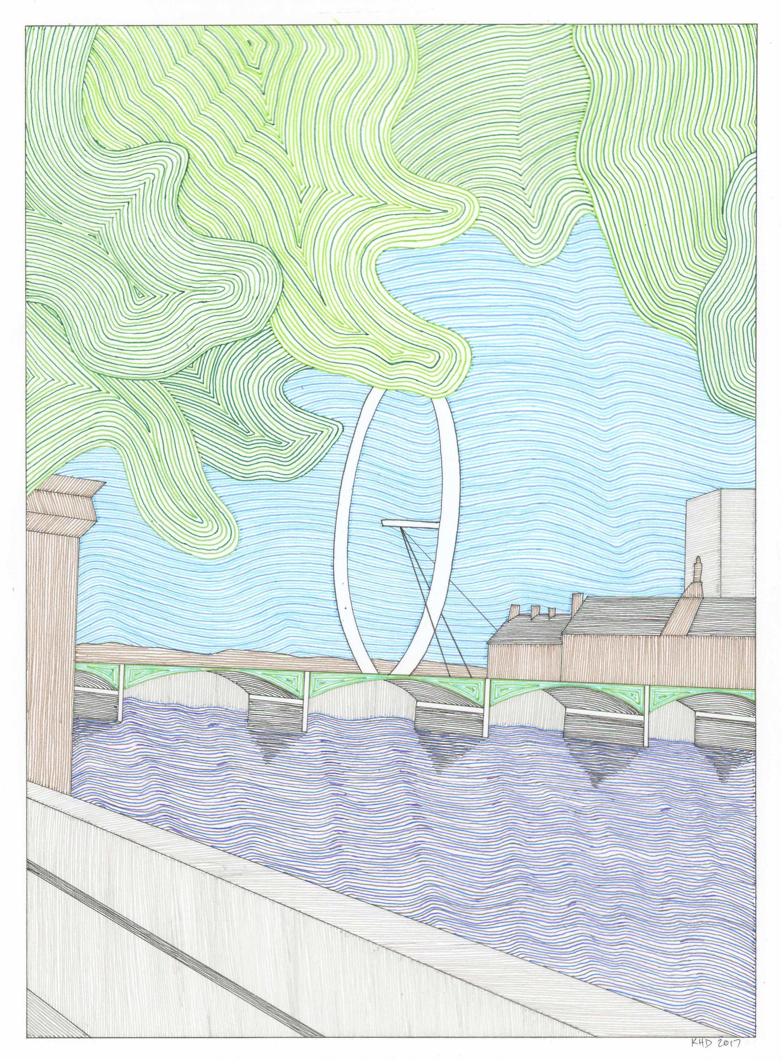 London Eye 2 | Sold