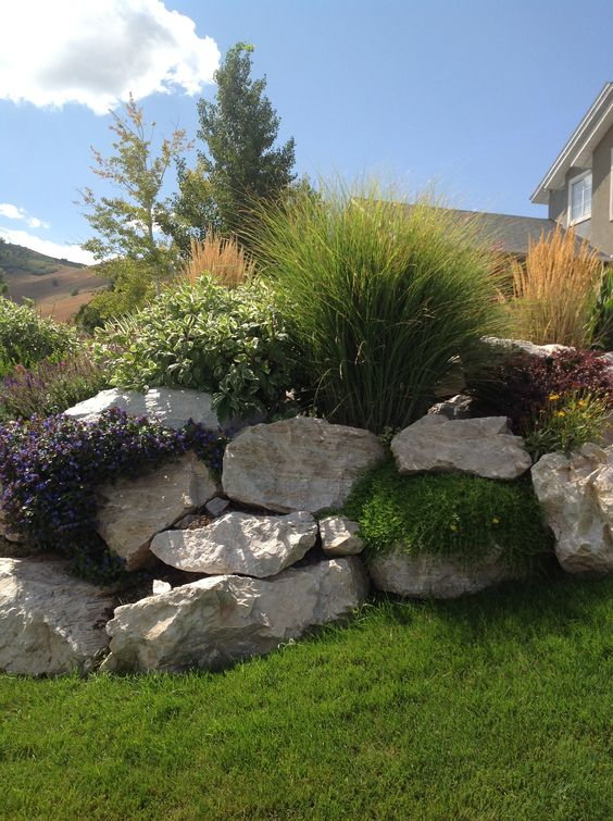 Decorative Rock & Boulders - Add variety to your garden with strategically placed decorative rock and boulders.