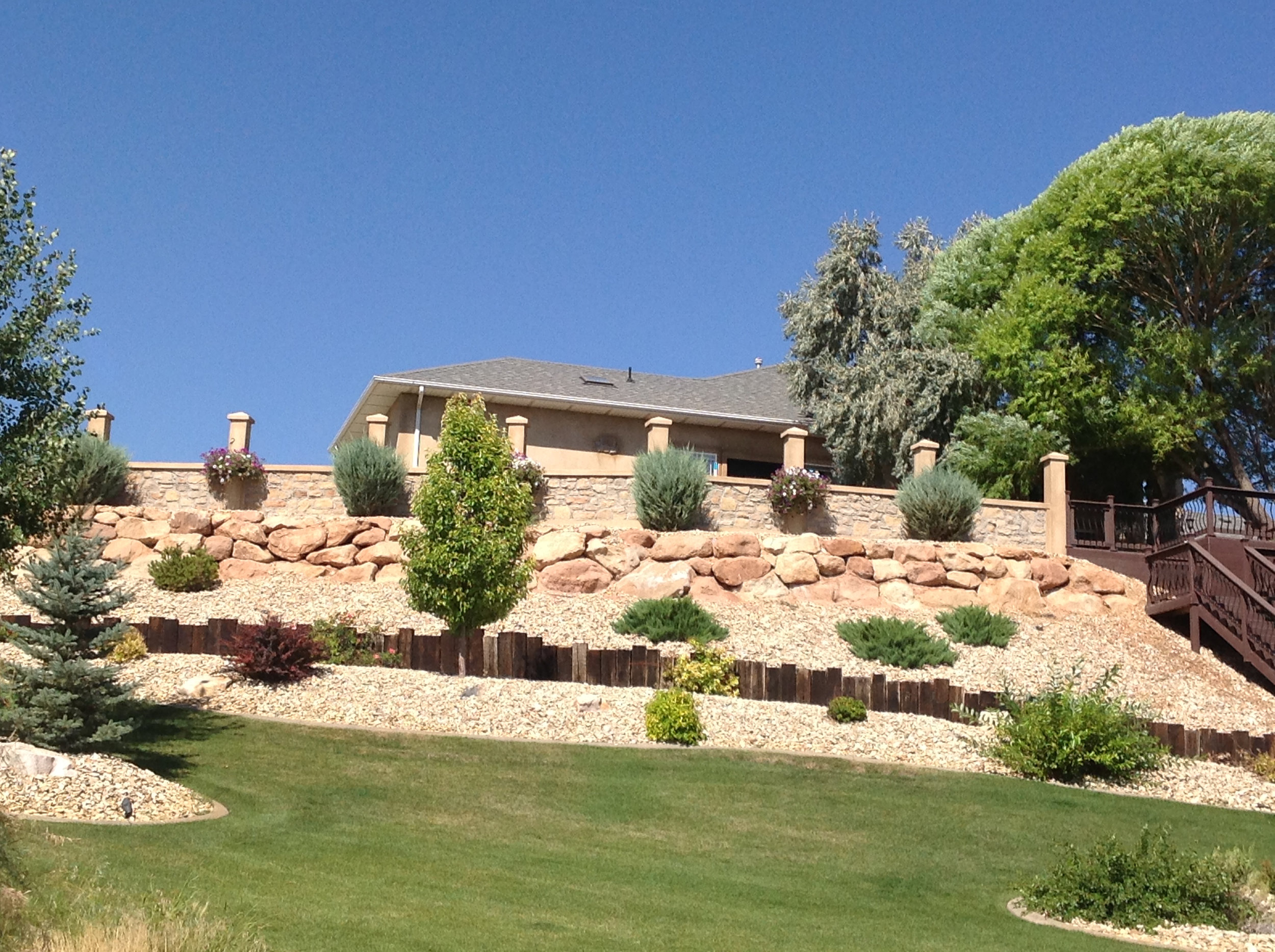 Xeriscape - Save water with xeriscaping. No matter your budget, we can help you create a beautiful, water-wise landscape.