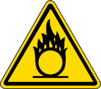 Oxidizing Materials  can increase the risk of a fire or explosion