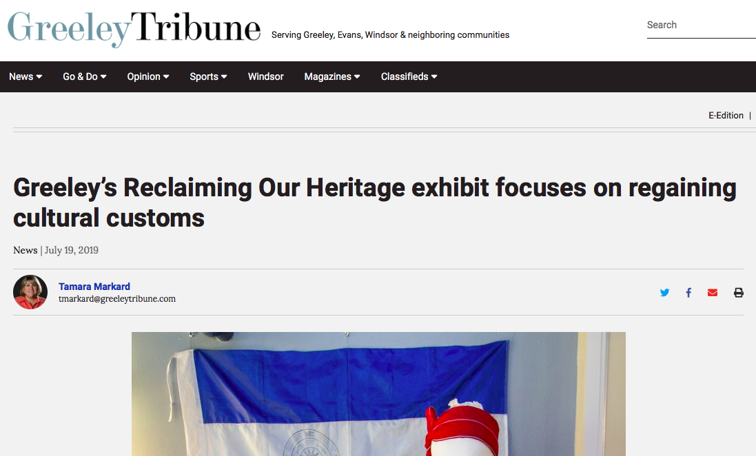 Reclaiming Our Heritage Exhibit