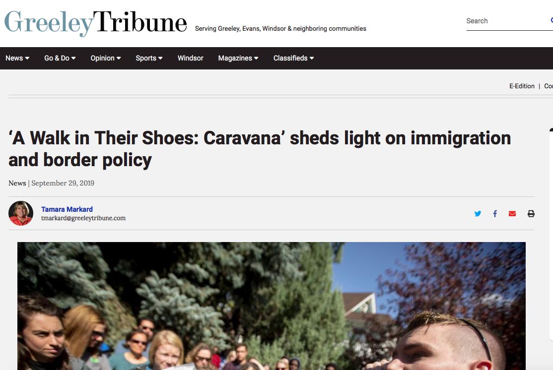 A Walk In Their Shoes: Caravana