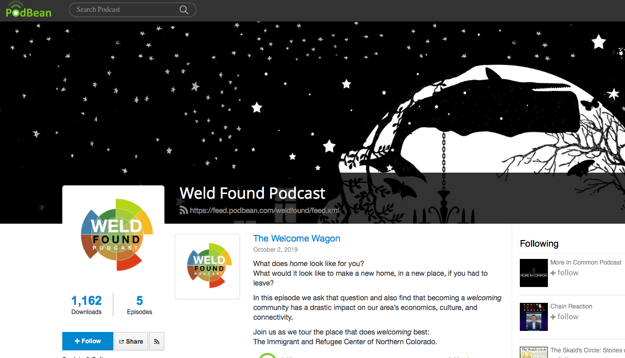 """Weld Found Podcast """"Welcome Wagon"""""""