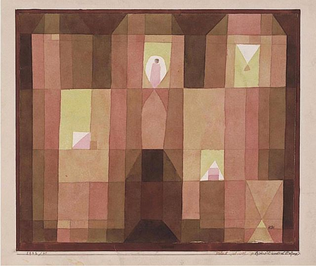 Paul Klee 'Palace' 1922