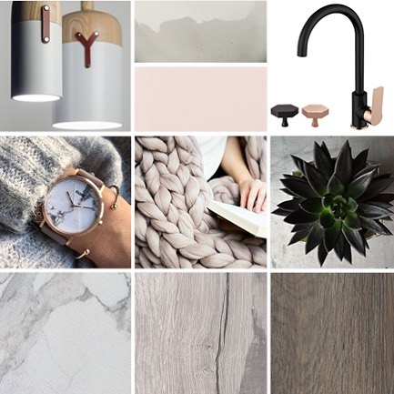 Loving the colors and textures of this moodboard! ❤️ . . . . #interiordesign #design #architecture #moodboard