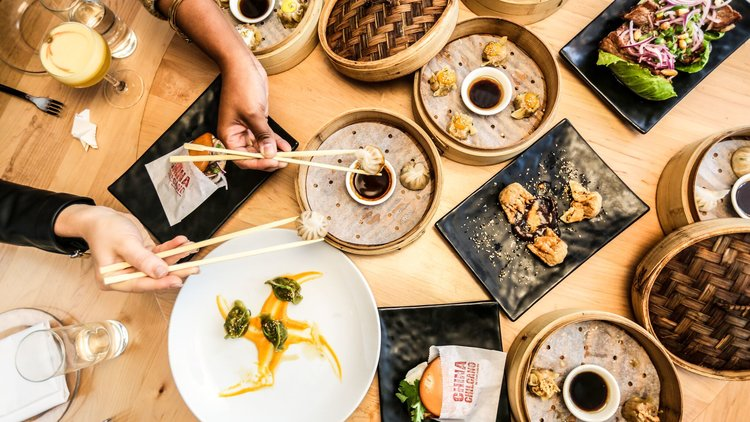 """""""I liked the idea of clients being able to pick and choose from offerings and services - like you would at a Dim Sum restaurant.""""— Farrah - Dim Sum Media for China Chilcano"""