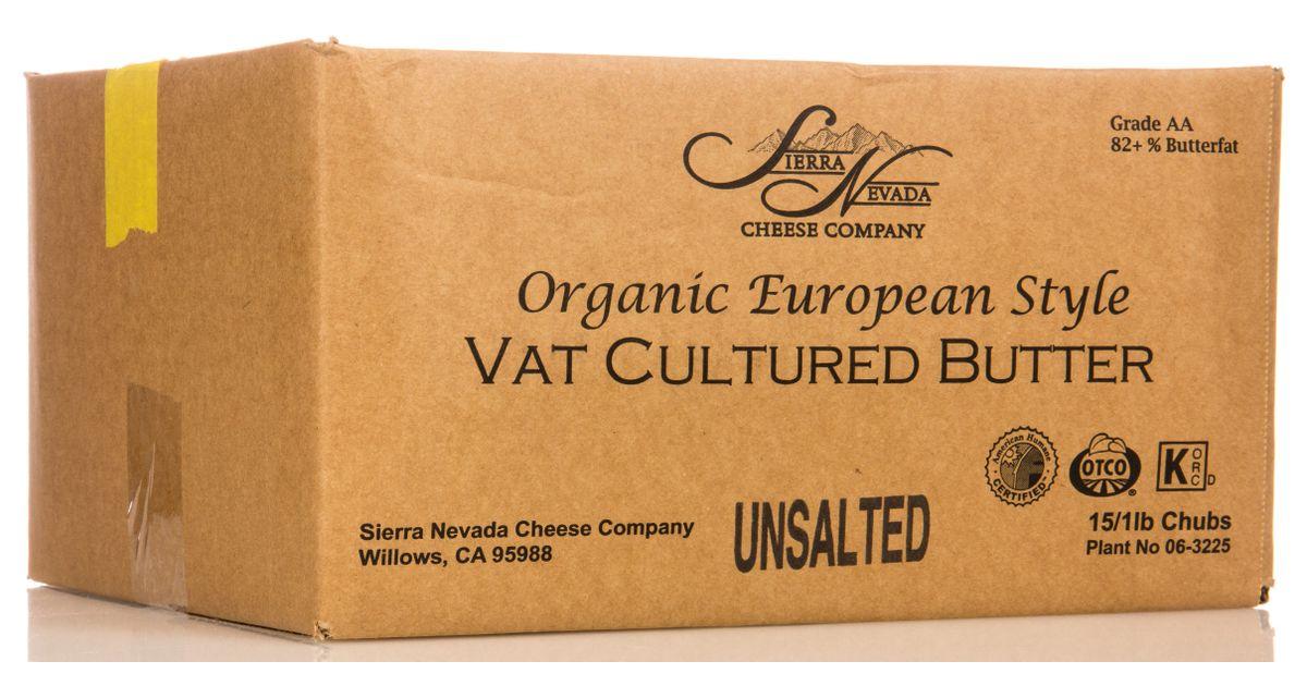 Sierra Nevada cultured butter