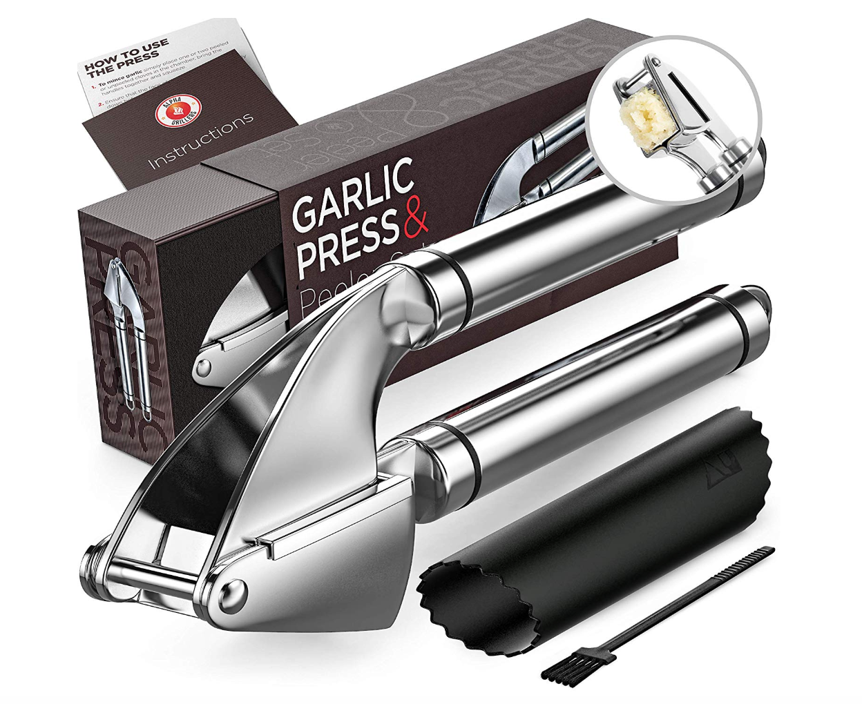 Alpha Grillers Garlic Press