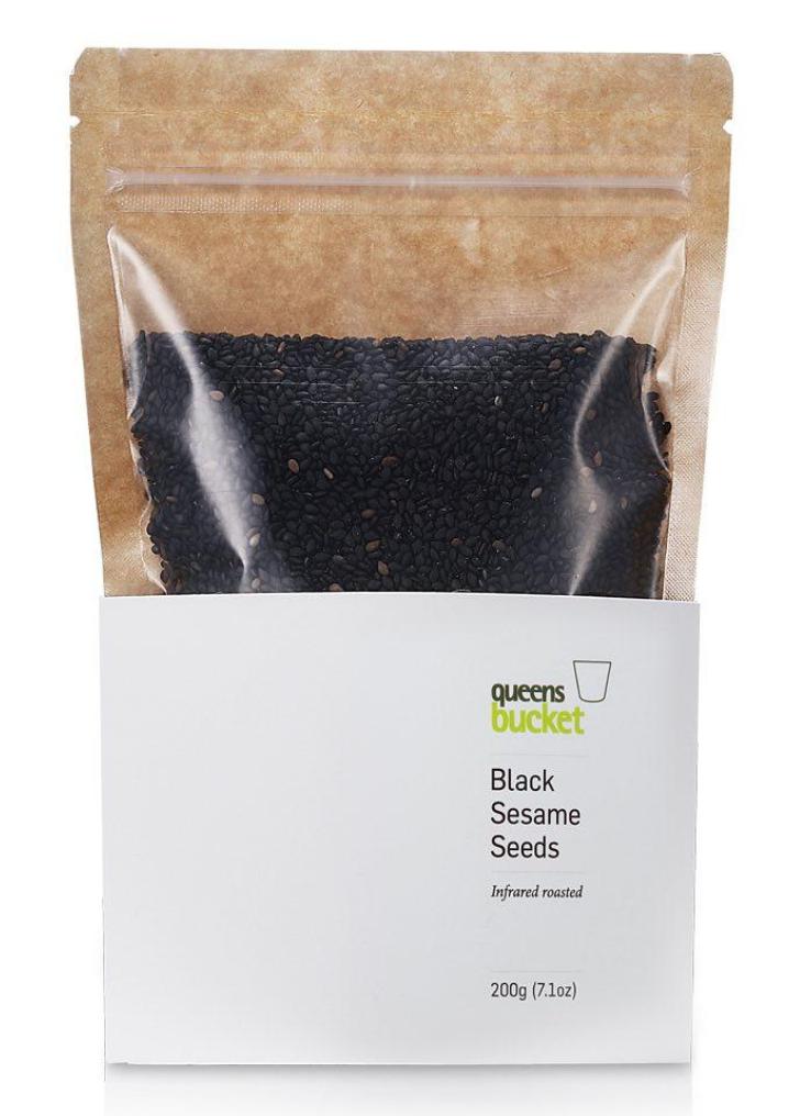 Infrared-Roasted Black Sesame Seeds