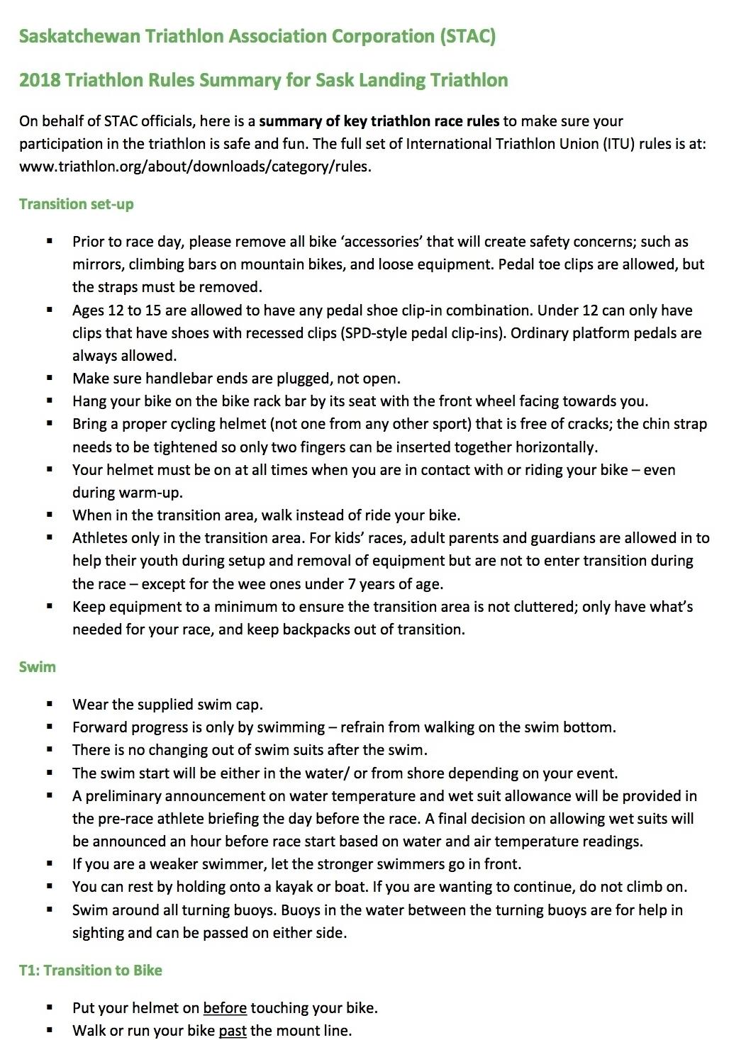 STAC Summary of Race Rules 2018 Sask Landing Triathlon.jpg