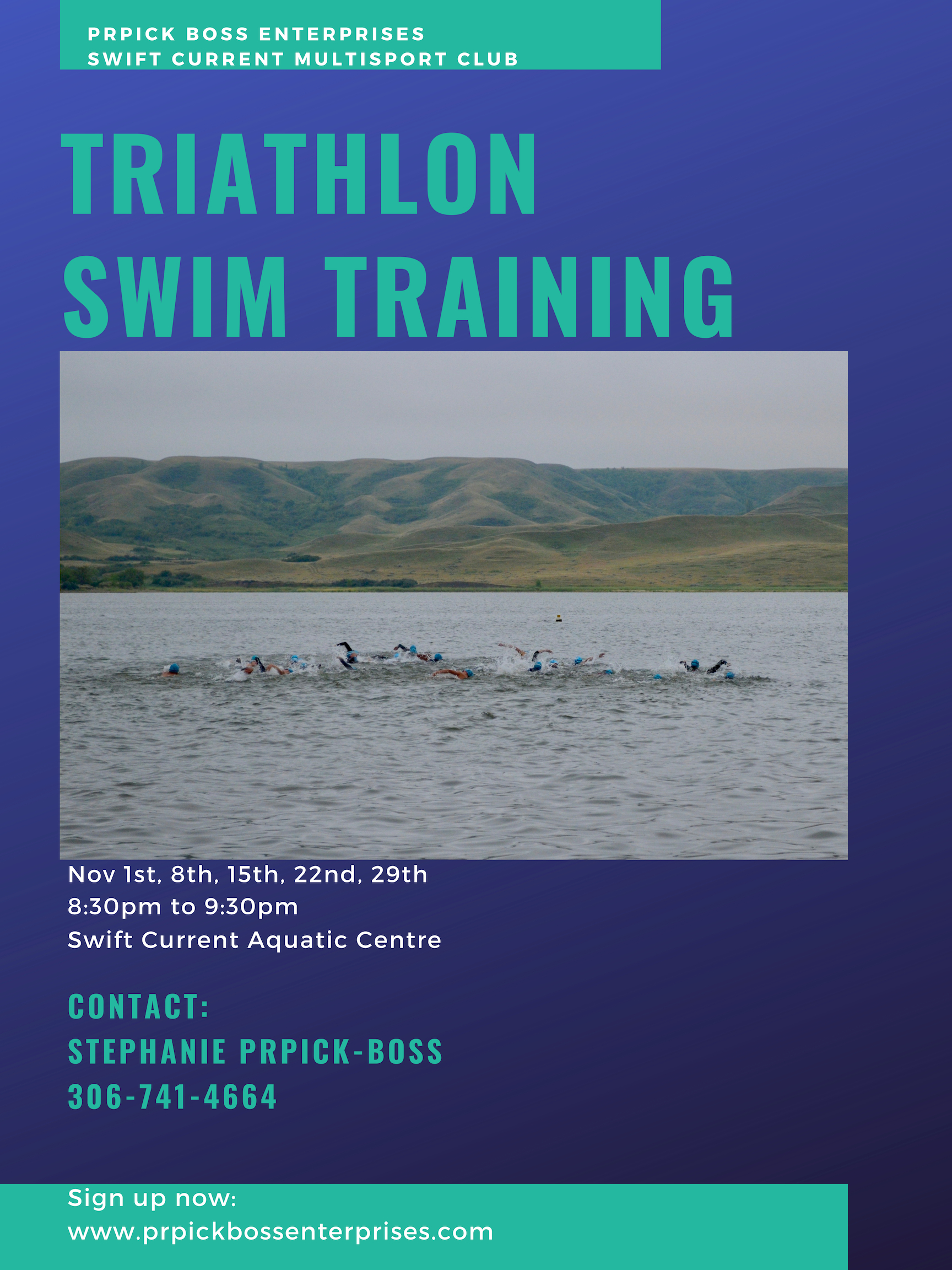 Prpick Boss Enterprises : SCMC Triathlon Swim Training.jpg